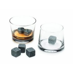 Gift Tribe Granite Whisky Stones Gift Set - Set of 9
