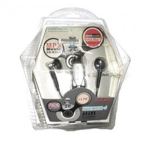 Geeko CD-K31V In-Ear Earphones With Volume Control