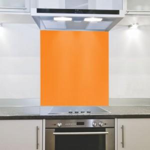 Parrot Hob Splashback - Orange (898 x 700 x 4mm)