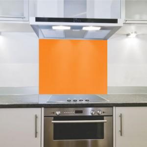 Parrot Splashback 598 x 650 x 4mm Hob - Orange