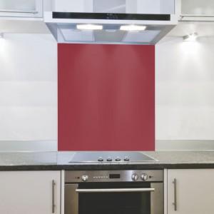 Parrot Hob Splashback - Red (898 x 700 x 4mm)