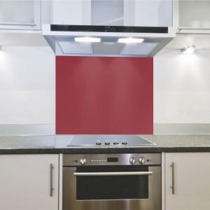 Parrot Hob Splashback - Red (598 x 650 x 4mm)