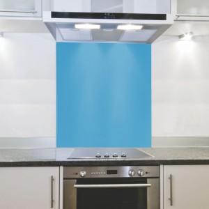 Parrot Hob Splashback - Blue (898 x 700 x 4mm)