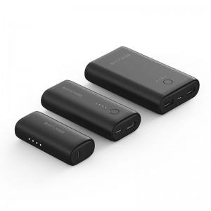 RAVPower 3350mAh 6700mAh 10050mAh 3 Pack Power Bank - Black