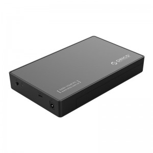 Orico 2.5|3.5 USB-C External HDD Enclosure - Black