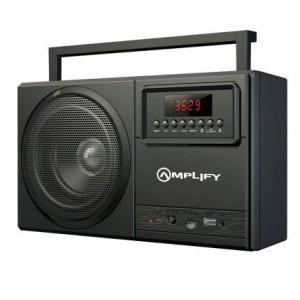 Amplify Tuner Series Bluetooth Radio - Black
