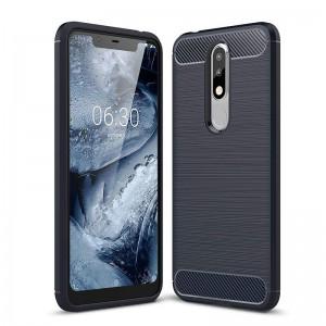 Nokia 5.1 Plus Cover Case - Blue