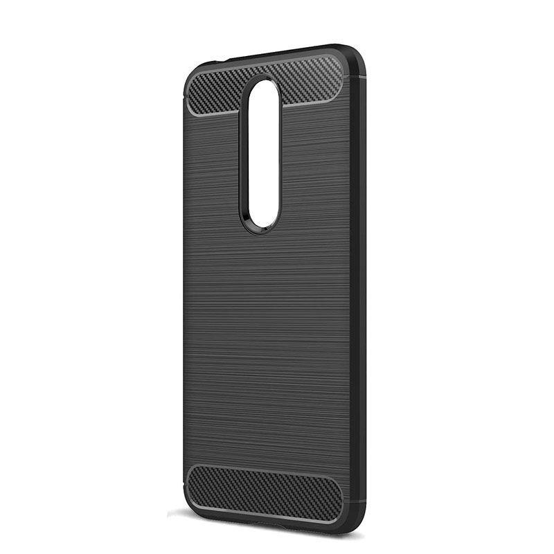 Nokia 5.1 Plus Cover Case - Black