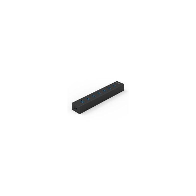 Orico 7 Port USB3.0 Aluminium Hub - Black