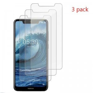 Nokia 5.1 Plus Tempered Glass Screen Protector 9H Hardness