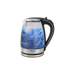 Mellerware 1.8L Glass Kettle - Silver