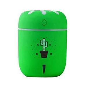 Casey Chamomile Cactus Pot Plant Design Multifunctional Portable 200ml USB Humidifier Air Purifier
