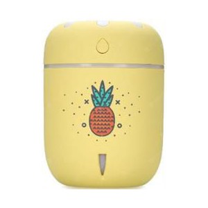 Casey Chamomile Pineapple Design Multifunctional Portable 200ml USB Humidifier Air Purifier