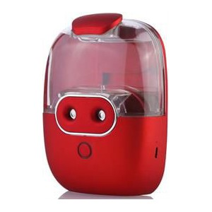 Casey Nano Hydrometer Design Multifunctional Portable 60ml USB Humidifier Air Purifier - Red