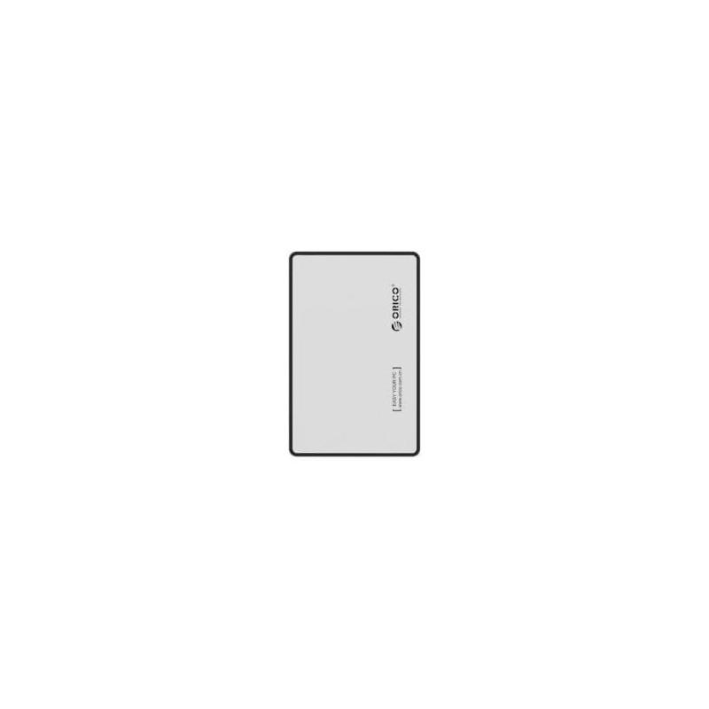 Orico 2.5 USB3.0 External HDD Enclosure - Silver