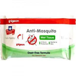 Pigeon Anti-Mosquito Baby Wipes (12's)
