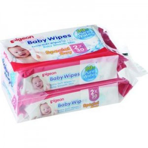 Pigeon 2-In-1 Baby Wipes (30's)