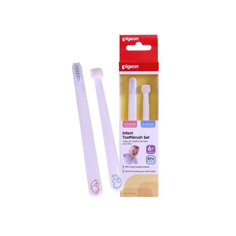 Pigeon Infant Toothbrush Set