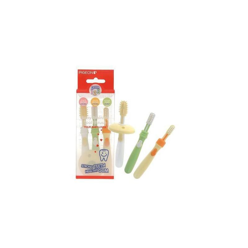 Pigeon Trainer Toothbrush Set