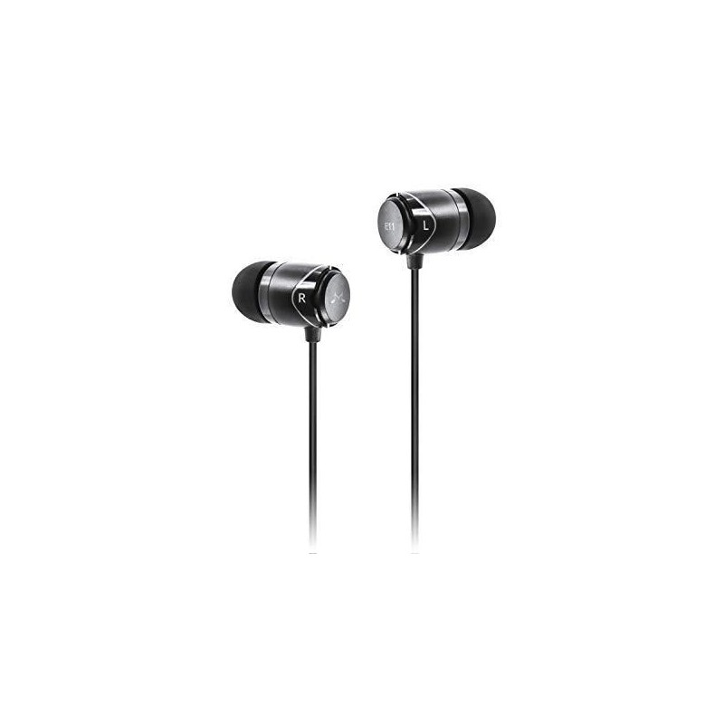 Sound Magic E11 Noise Isolating In Ear Wired Earphones -Black