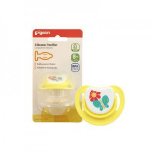 Pigeon Silicone Pacifier Step 3 Butterfly