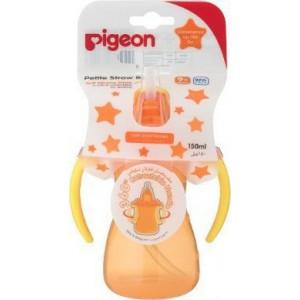 Pigeon Petite Straw Bottle Orange - 150ml