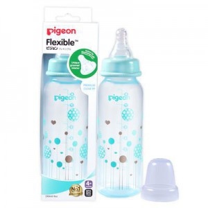 Pigeon Flexible Bottle Standard Neck Circles 240ml
