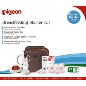 Pigeon Breastfeeding Starter Kit Pro