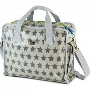 Caboodle Fun and Funky Baby Bag (Silver Star Design)