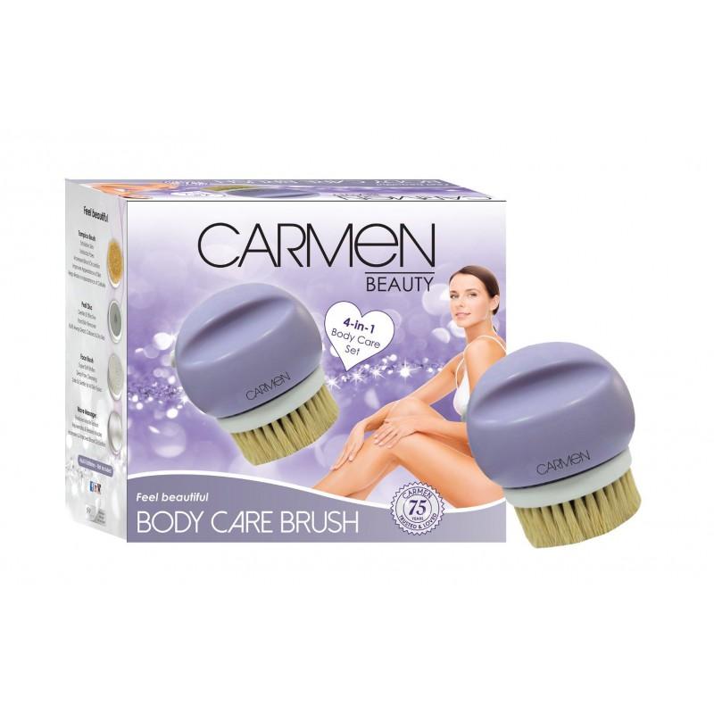 Carmen 4 in 1 Body Brush
