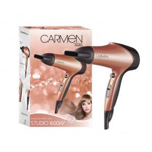 Carmen Studio 1600W Hairdryer - Rose Gold