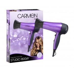 Carmen Studio Blue 1800w Hairdryer