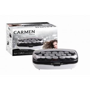 Carmen Silk Curls Velvet Rollers 20's