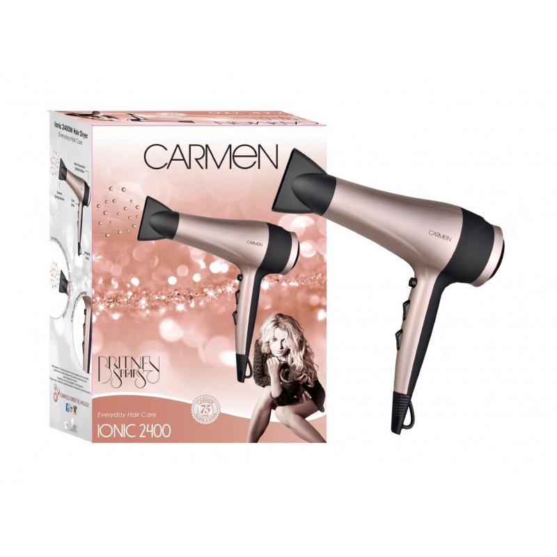 Carmen Ionic 2400w Hairdryer - Britney Spears