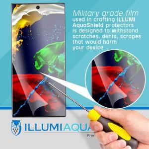ILLUMI AquaShield (2-Pack) Screen Protector for Samsung Note 10 Plus + Full screen coverage (Case Friendly)