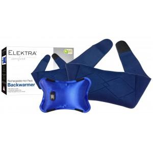 Elektra Electric Hot Water Bottle With Back Warmer