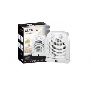 Elektra Oscillating Fan Heater