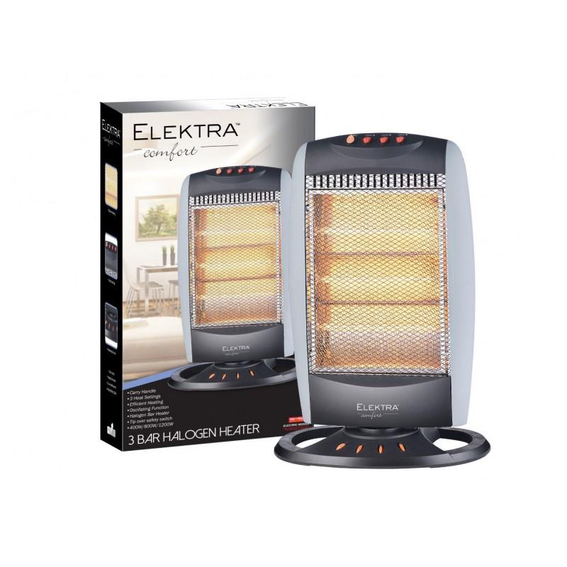 Elektra 3 Bar Halogen Heater