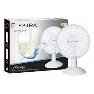 Elektra Desk Fan 12'