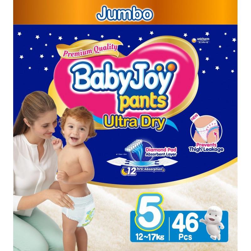 Babyjoy Pants Size 5 - Jumbo 46pc