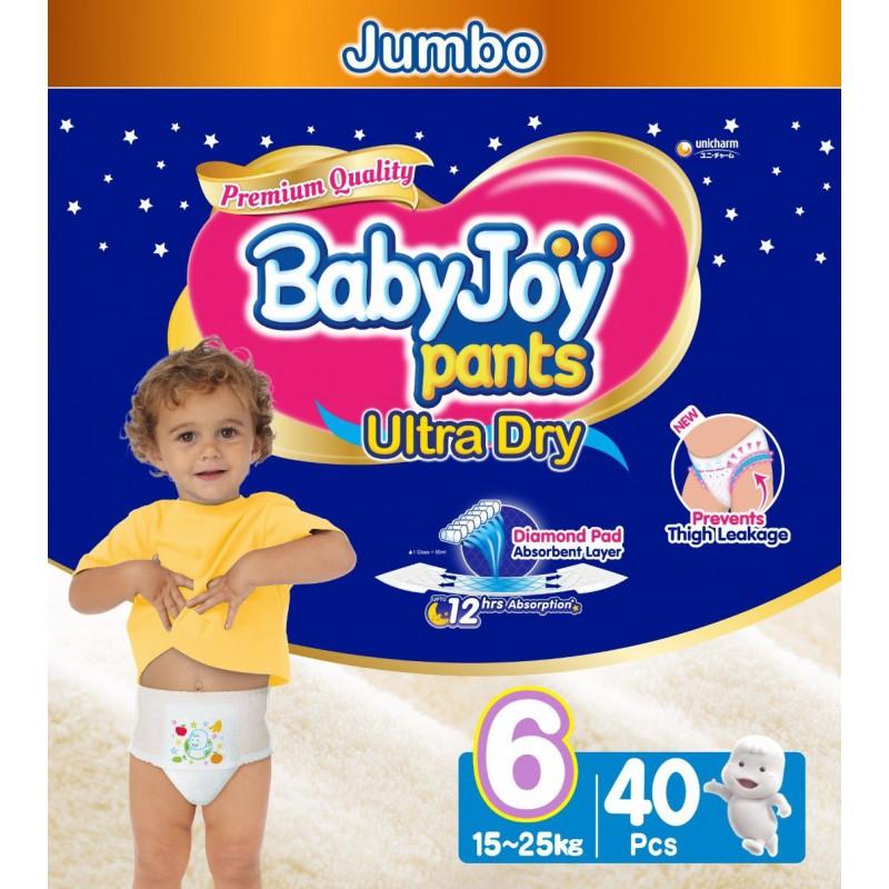Babyjoy Pants Size 6 - Jumbo 40pc