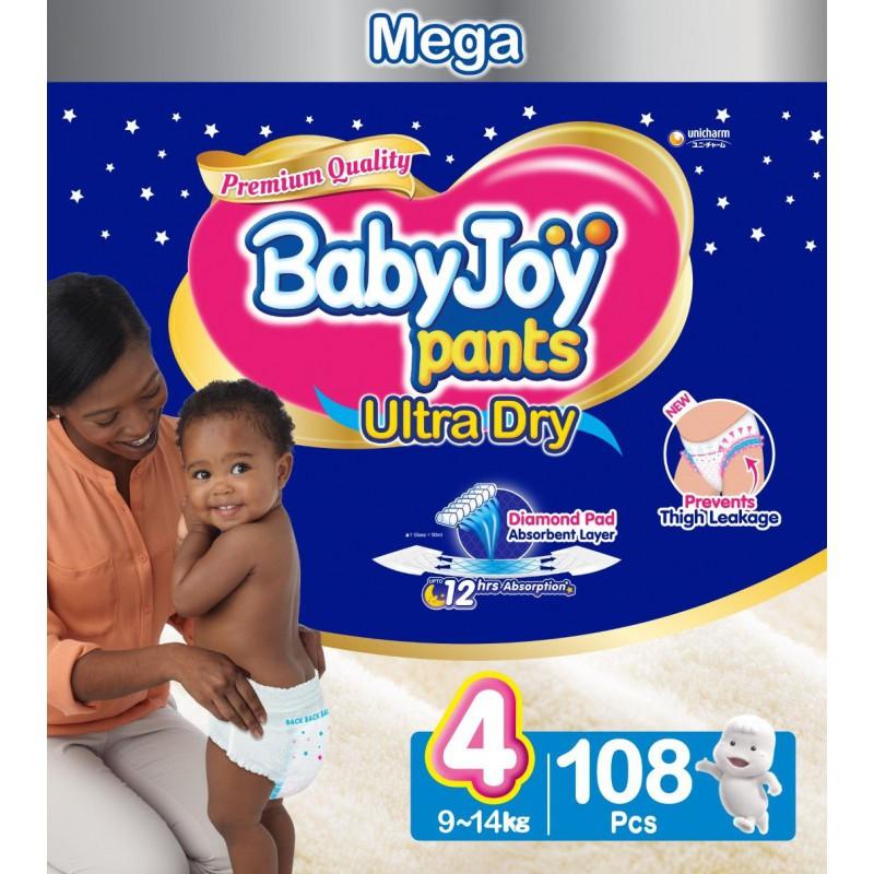 Babyjoy Pants Size 4 - Mega 108pc