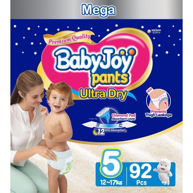 Babyjoy Pants Size 5 - Mega 92pc
