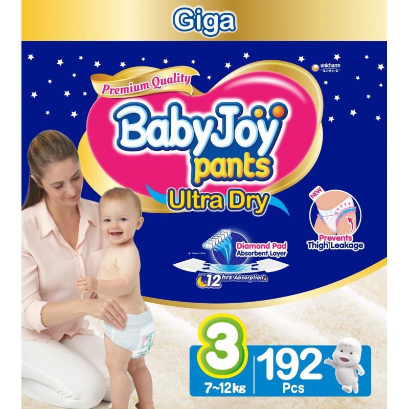 Babyjoy Pants Size 3 - Giga 192pc