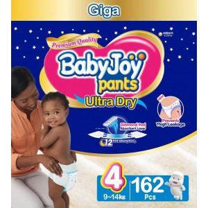 Babyjoy Pants Size 4 - Giga 162pc