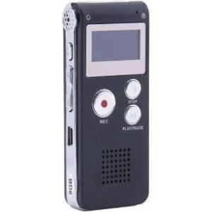 TUFF-LUV 8GB Dictaphone -  Digital Audio Voice Recorder
