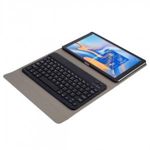 "TUFF-LUV Keyboard Cover Case for Galaxy Tab A 10.5'' (Model T590/T595) 10.5"" Black"