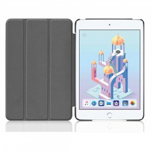 TUFF-LUV Smart Case for the Apple iPad  Mini 4/ 5th Gen (2019)  - Black