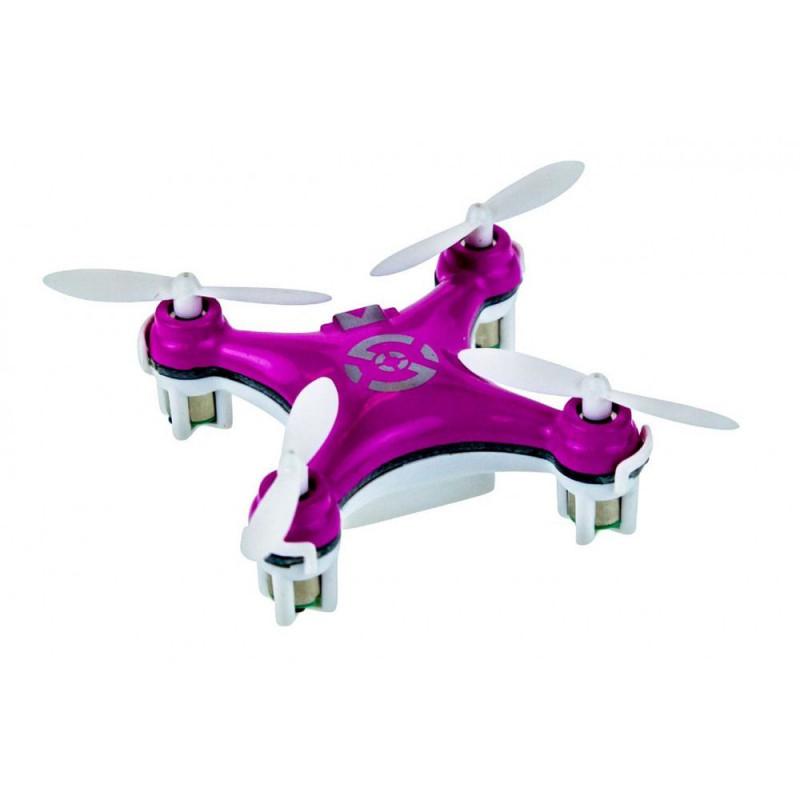 Cheerson CX10 Portable Micro RC Drone Quadcopter - Pink