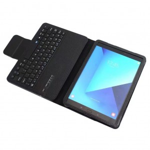 TUFF-LUV Magnetic Bluetooth Keyboard  cover for Galaxy Tab S3 9.7 T820/T825 Black